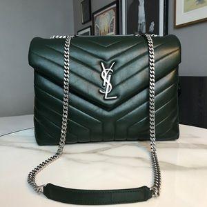 Yves Saint Laurent Bags Ysl Medium Loulou Bag In Dark